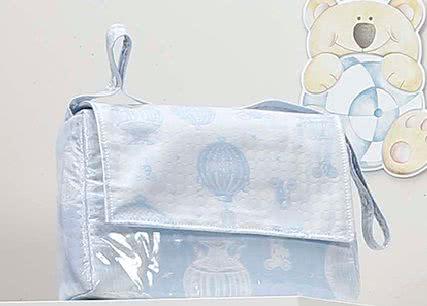 Bolso solapa plastificado (Globos)