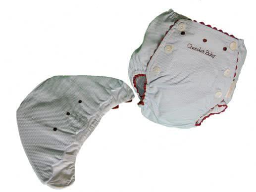 Conjunto cubre-pañal y capota