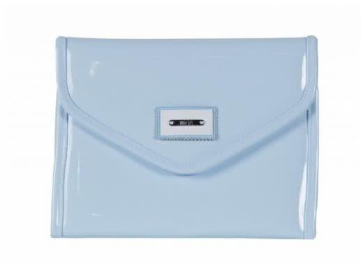 Porta-documentos charol, varios colores (Orión)